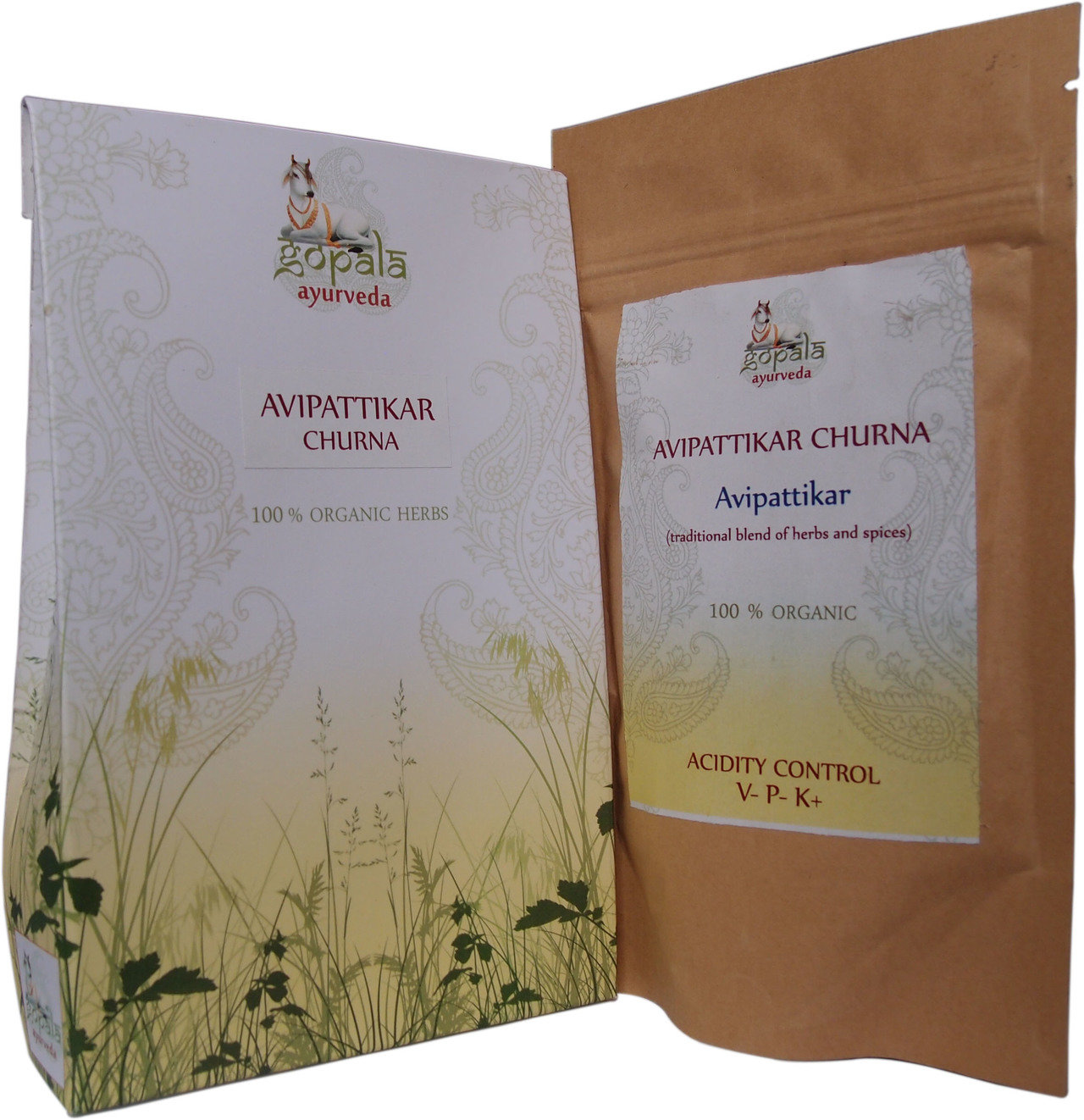 Gopala Avipattikar Capsules (108Vcaps) - 100% Certified Organic
